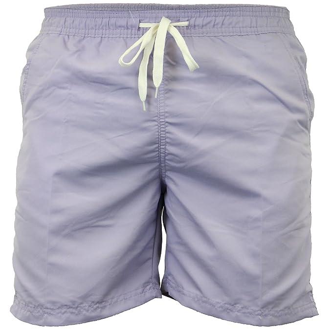 Soulstar Lana para Hombre natación Pantalones Cortos con Forro de Malla elástica Pantalones de Tablas de