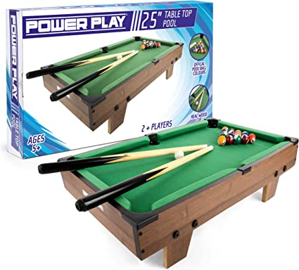 Power Play Mesa de Billar TY5894DB: Amazon.es: Juguetes y juegos