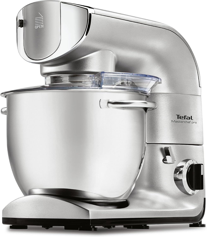 Tefal Masterchef Pro QB625D 1200W 5.5L Plata - Robot de cocina (5,5 L, Plata, 1,4 L, Acero inoxidable, 1200 W, 11,2 kg): Amazon.es: Hogar