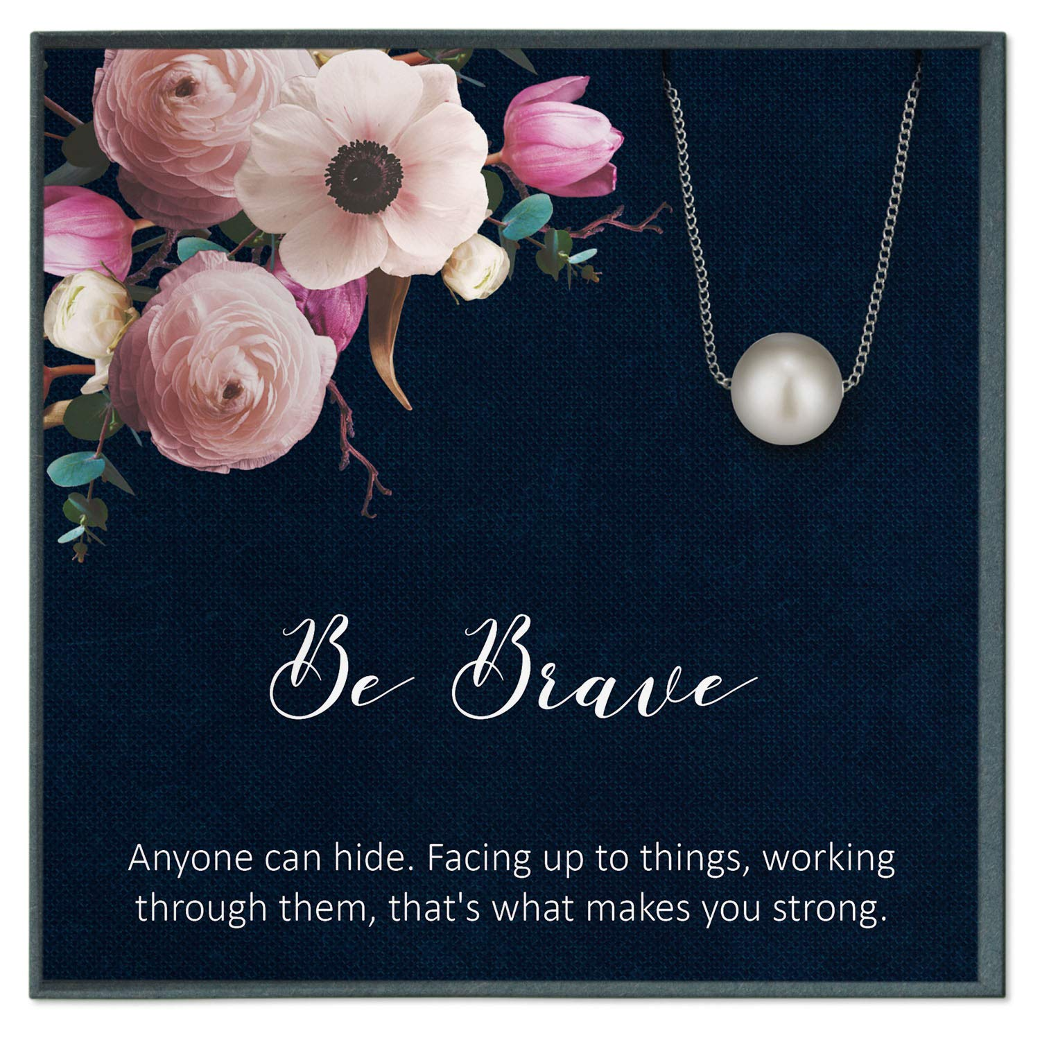 Amazon Com Brave Quote Jewelry Sobriety Gifts Sobriety Quotes Recovery For Addicts Recovery 12 Steps Get Well Handmade