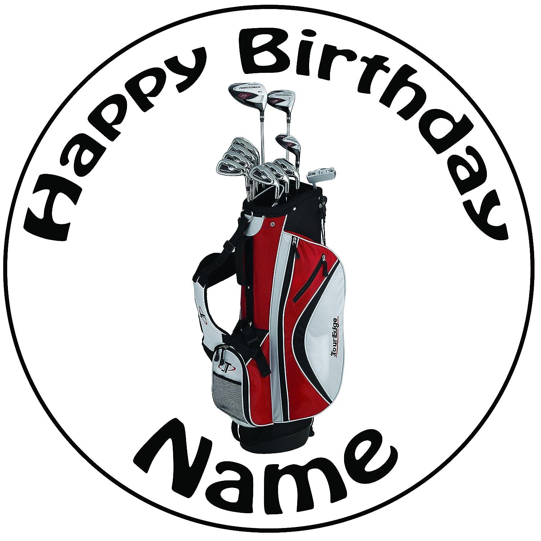 Decoración para tarta para personalizable de palos de golf ...