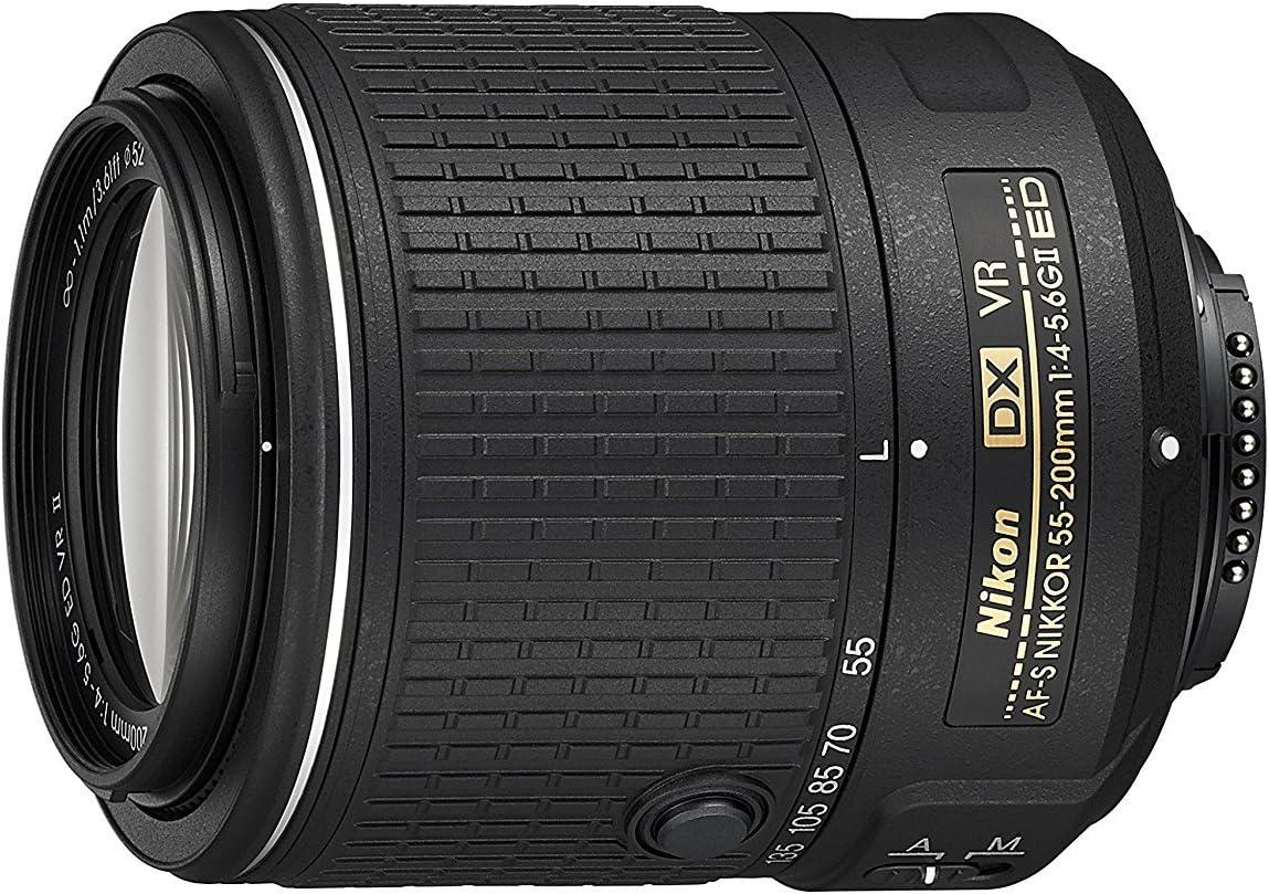 Nikon 55-200mm f4-5.6G ED Auto Focus-S DX Nikkor Zoom Lens - White Box (New)
