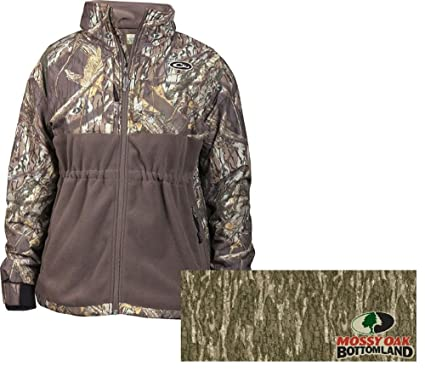 2be321969d09a Drake Women s MST Full Zip Extra Small Mossy Oak Bottomland