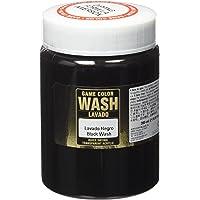 VALLEJO-3073301 73301 VALLEJO Game Color Wash Negro, Surtido