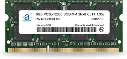 USA 4GB RAM DDR3 PC3L-12800 Memory for iMac 27-inch Late 2012 Mid 2013