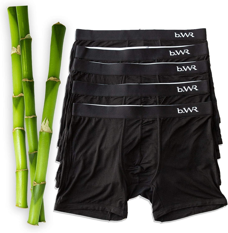 Gift For Men Boxer Gift For Boyfriend Organic Cotton Deer Ballpark Pouch Men/'s Underwear Trunks Wild Animals Designed Boxer Briefs