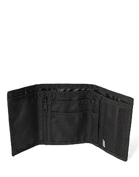 Napapijri HAPPY WALLET Monedero, 27 cm, Negro (Black)