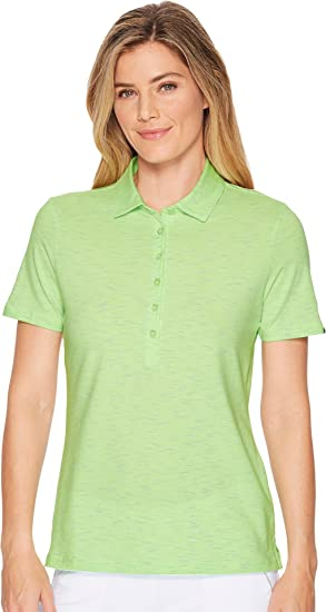 ac9b14e04cf5 Image Unavailable. Image not available for. Color  Skechers Performance  Womens Go Golf Space Dye Polo ...