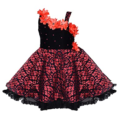 5b82b39bf Wish Karo Baby Girls Frock Dress - Net - (fe1102bred)  Amazon.in ...