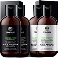 Double Hair Growth Shampoo and Conditioner Set - 2 Shampoos and 2 Conditioners