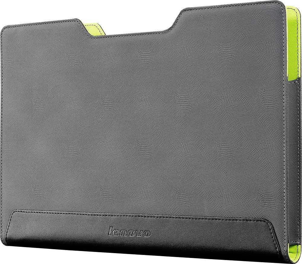"Lenovo 11 Inch Laptop Sleeve - Flex 11"" Slot-in Sleeve Laptop Case, Grey (GX40J46556)"