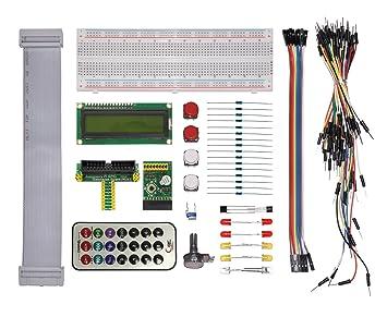 Raspberry Pi GPIO Electronics Starter Kit T-Cobbler,IR