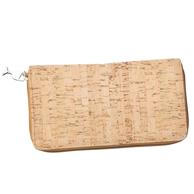 Amazon.com: Mujer corcho portafolios con tarjeta de Crédito ...