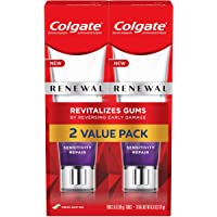 Colgate, Renewal Gum Toothpaste Sensitivity Repair Fresh Mint Gel Formula 3 ounce, Pack of 2