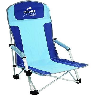 Explorer Chaise de plage Bula, bleu/bleu clair, One Size, 29900