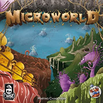 Great Cranio Creations CRCD0003 Microworld Spiel