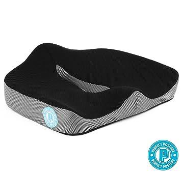 Merveilleux Memory Foam Seat Cushion For Car And Chair: NeverFlat Memory Foam, CoolTec  Mesh.