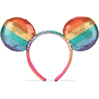 Disney Mickey Mouse Rainbow Ear Headband Multi