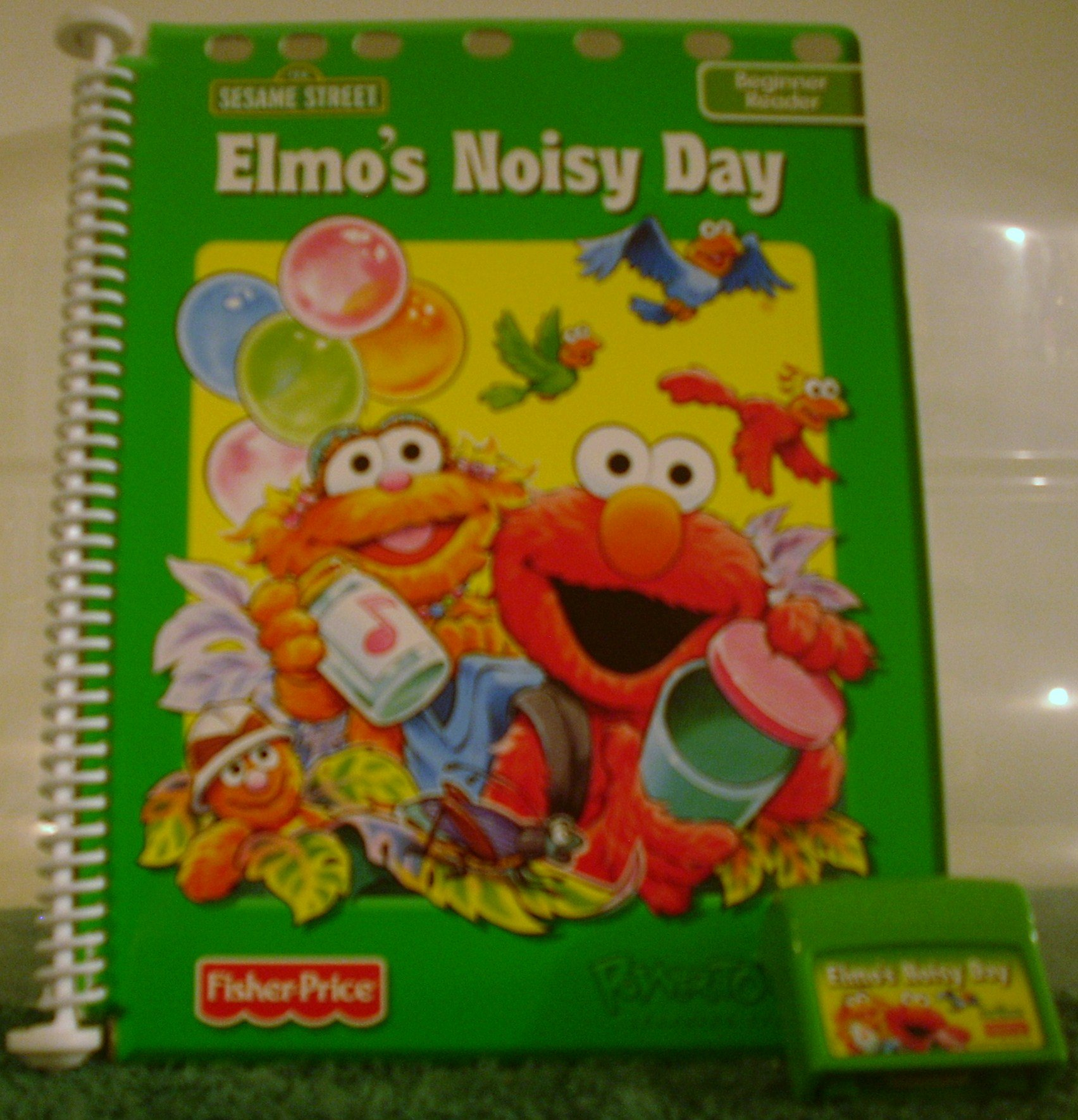 PowerTouch Learning System Book and Cartridge Elmos Noisy Day Fisher-Price
