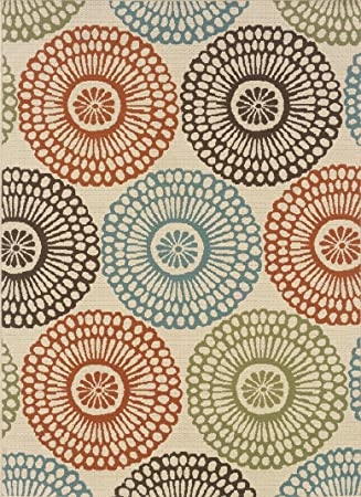 Amazon.com : Granville Rugs Monterey Indoor/Outdoor Area Rug ...