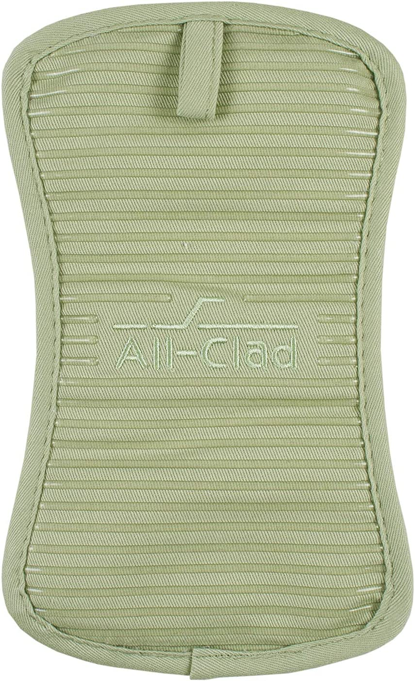 All-Clad Textiles Silicone Pot Holder, 1 Pack, Fennel