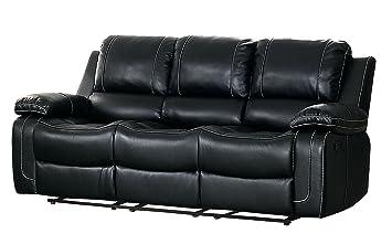 Amazon Com Homelegance Oriole Double Reclining Sofa Air Hyde