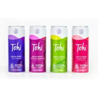 Tohi Drink Variety Pack, Aronia Berry Antioxidant Beverages - 30% Aronia Berry Juice - Non-Carbonated Drink with Monk Fruit Sweetener - 45 calories Juice Variety Pack (12oz. 12-Pack)