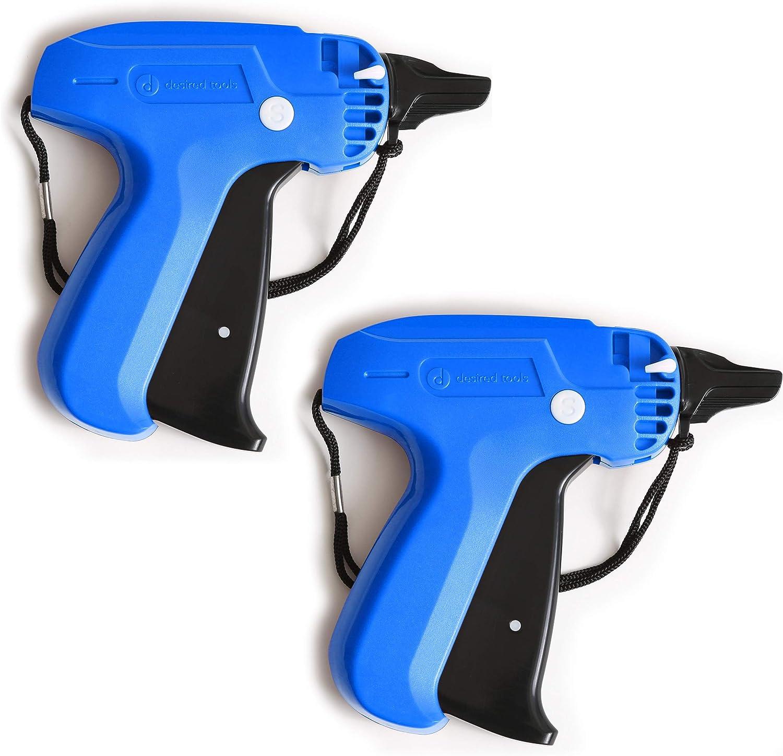 Juego de 2 pistolas etiquetadoras con 1000 sujetadore (7RQR)