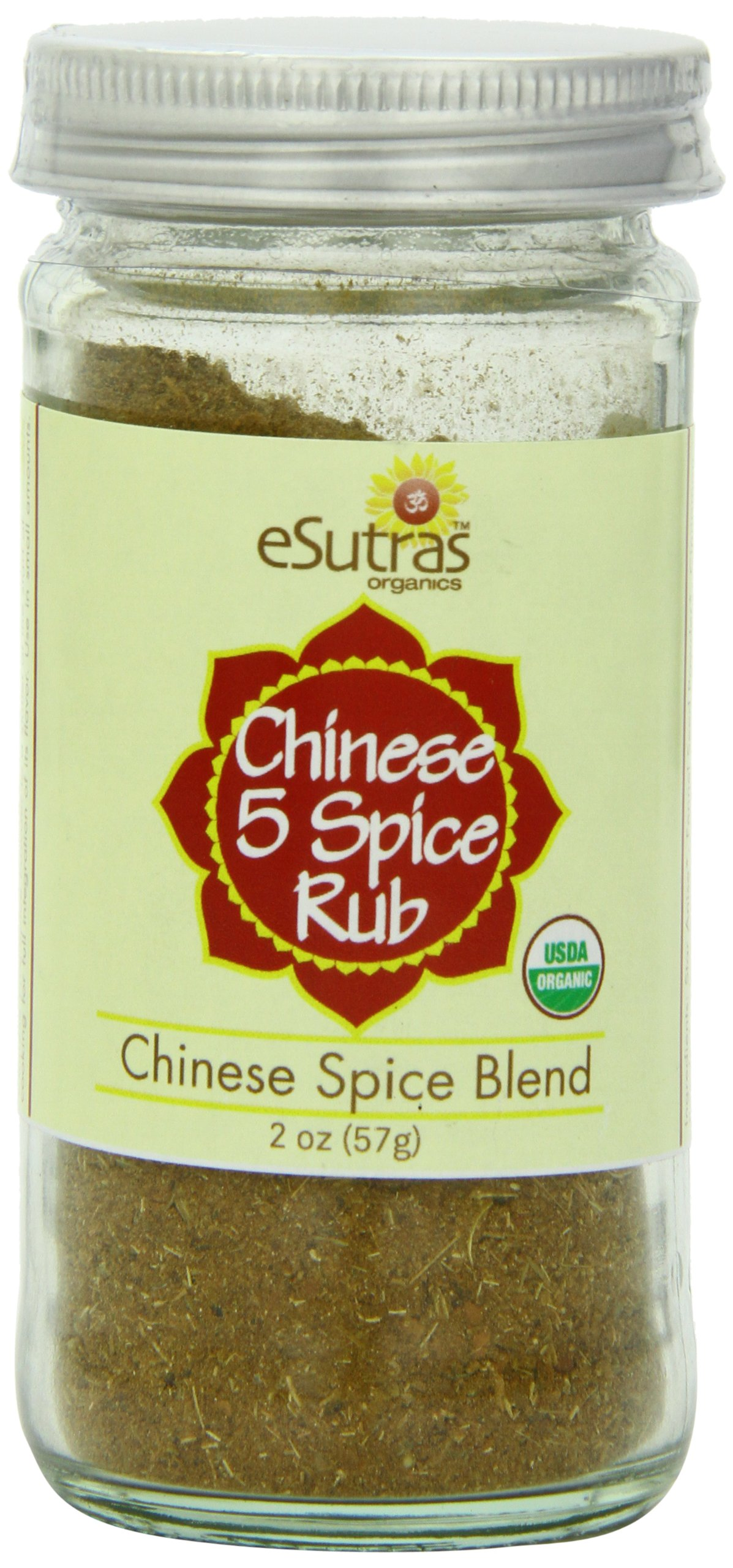 Esutras Organics Chinese Five Spice Powder, 2 Ounce