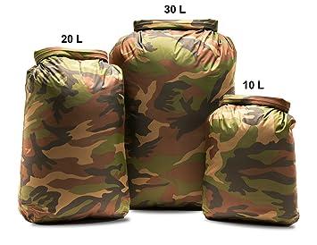 93c11bf5cdb4c5 Aqua Quest Rogue Dry Bags - 100% Waterproof - 10, 20, 30 L - Camo or ...