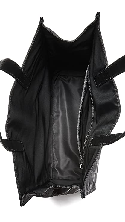 dda8fbb1925b Michael Kors Men's Kent Startooth Nylon Reversible Tote, Black, One Size:  Amazon.ca: Clothing & Accessories