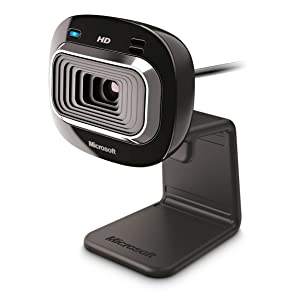 Microsoft LifeCam HD-3000 USB Port Webcam - Black
