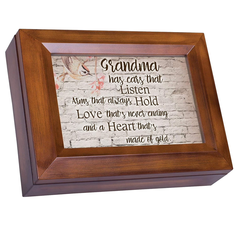 上品 Grandmas Are Listen Sunshine B01FYD8YSC Hold and Love木製仕上げジュエリー音楽ボックスPlays You Are My Sunshine B01FYD8YSC, (訳ありセール 格安):c228610d --- arcego.dominiotemporario.com