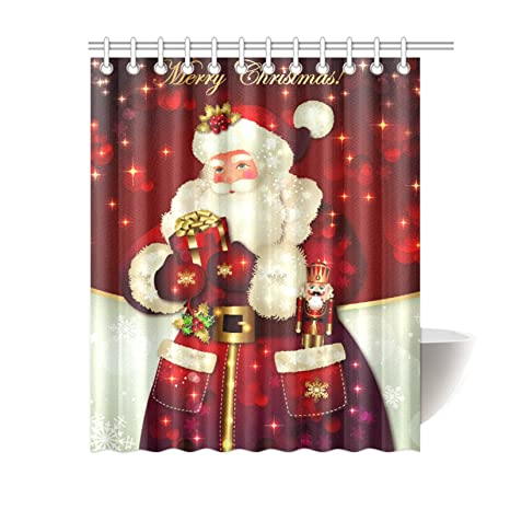 Dreamlike Merry Christmas Shower Curtain