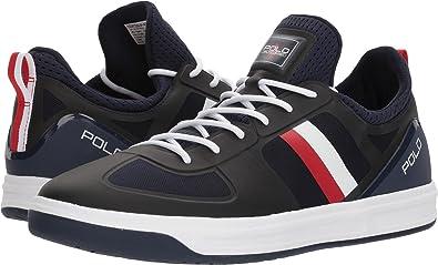 Ralph Court Blue Polo Lauren 200 Basses Size11 Uk Shoe Baskets QhCBxortsd