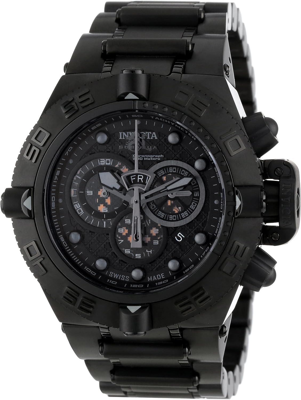 Invicta Men s 6561 Subaqua Noma IV Collection Chronograph Black Ion-Plated Watch