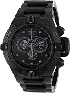 Invicta Men's 6561 Subaqua Noma IV Collection Chronograph Black Ion-Plated Watch