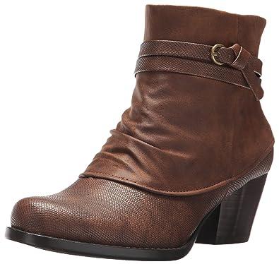 08eb86e1c24 BareTraps Women s Bt Rambler Ankle Bootie Chocolate 7 US 7 ...