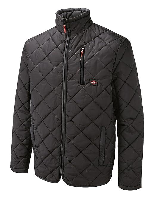Lee Cooper Men's Quilted Jacket - Black, Medium: Amazon.co.uk: DIY ...