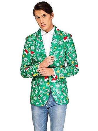 OFFSTREAM Suitmeister Trajes de Navidad - Incluyen Chaqueta y Corbata