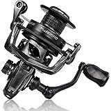 PLUSINNO Fishing Reel, 5.7:1 High Speed Spinning Reel,9 +1BB, Premium Drag System with17-22 LB Max Drag, Ultra Smooth Powerfu