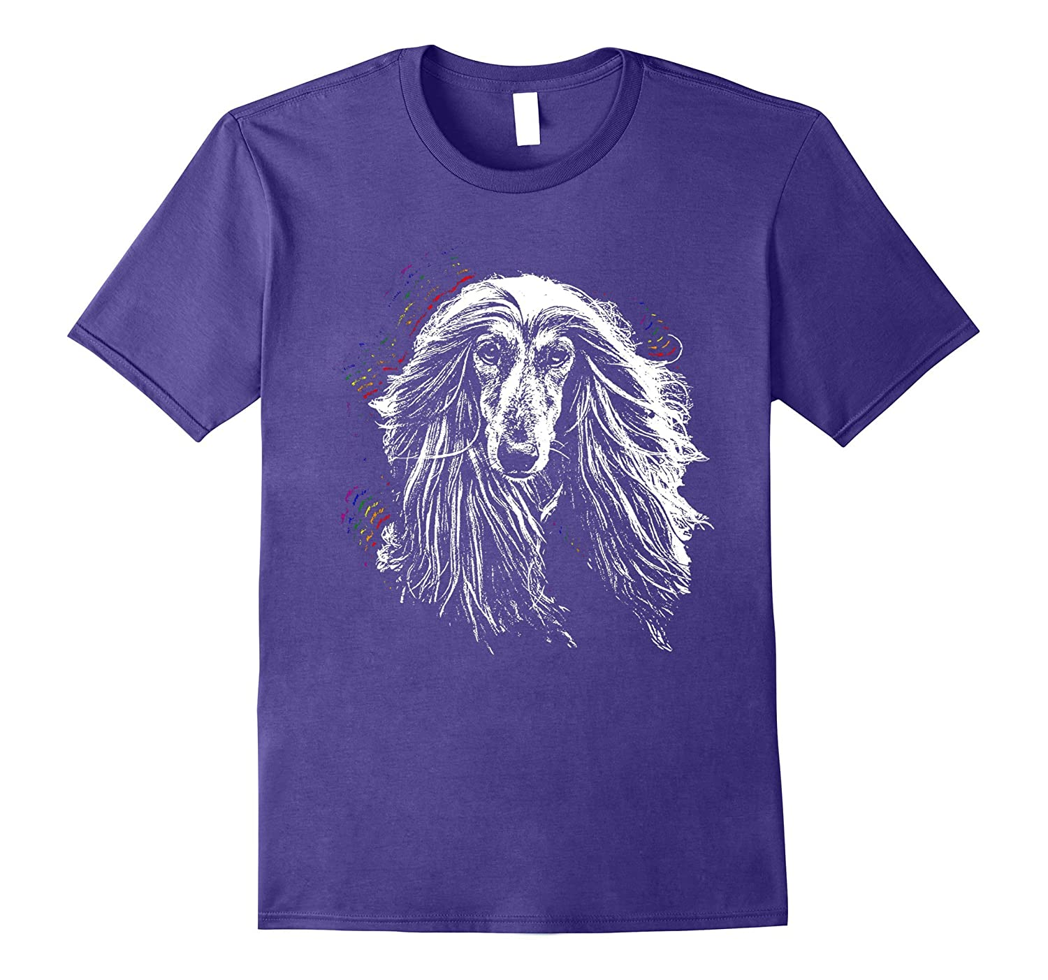 Afghan Hounds Love Everyone Gay Pride Shirt-Art