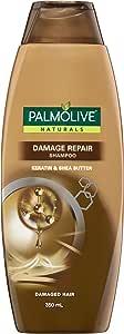 Palmolive Naturals Damage Repair for damaged hair Shampoo Keratin & Shea Butter 350mL
