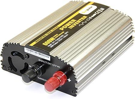 Voltage Converter Ms 12 V 600 1200 W Inverter Dc To Ac Elektronik