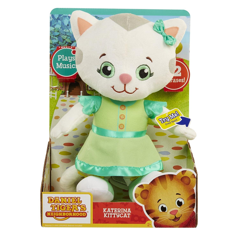 Daniel Tigers Neighborhood Friend Katerina Kittycat Plush Jakks 25008