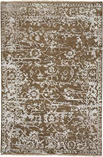 """product image for Capel Jain Tan 9' 0"""" x 12' 0"""" Rectangle Hand Knotted Rug"""