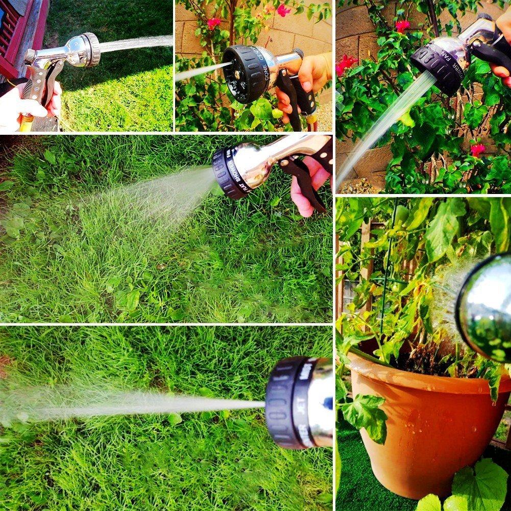 amazon com garden hose nozzle hand sprayer metal construction 8