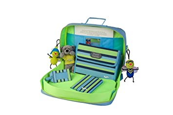 Amazon.com  Content Calm Traykit Stripe and Crocodile Backpack  Baby 2d0c28ac5f