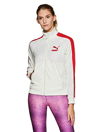PUMA True Archive T7 Track top Women Beige  Amazon.com.au  Fashion 079e965676
