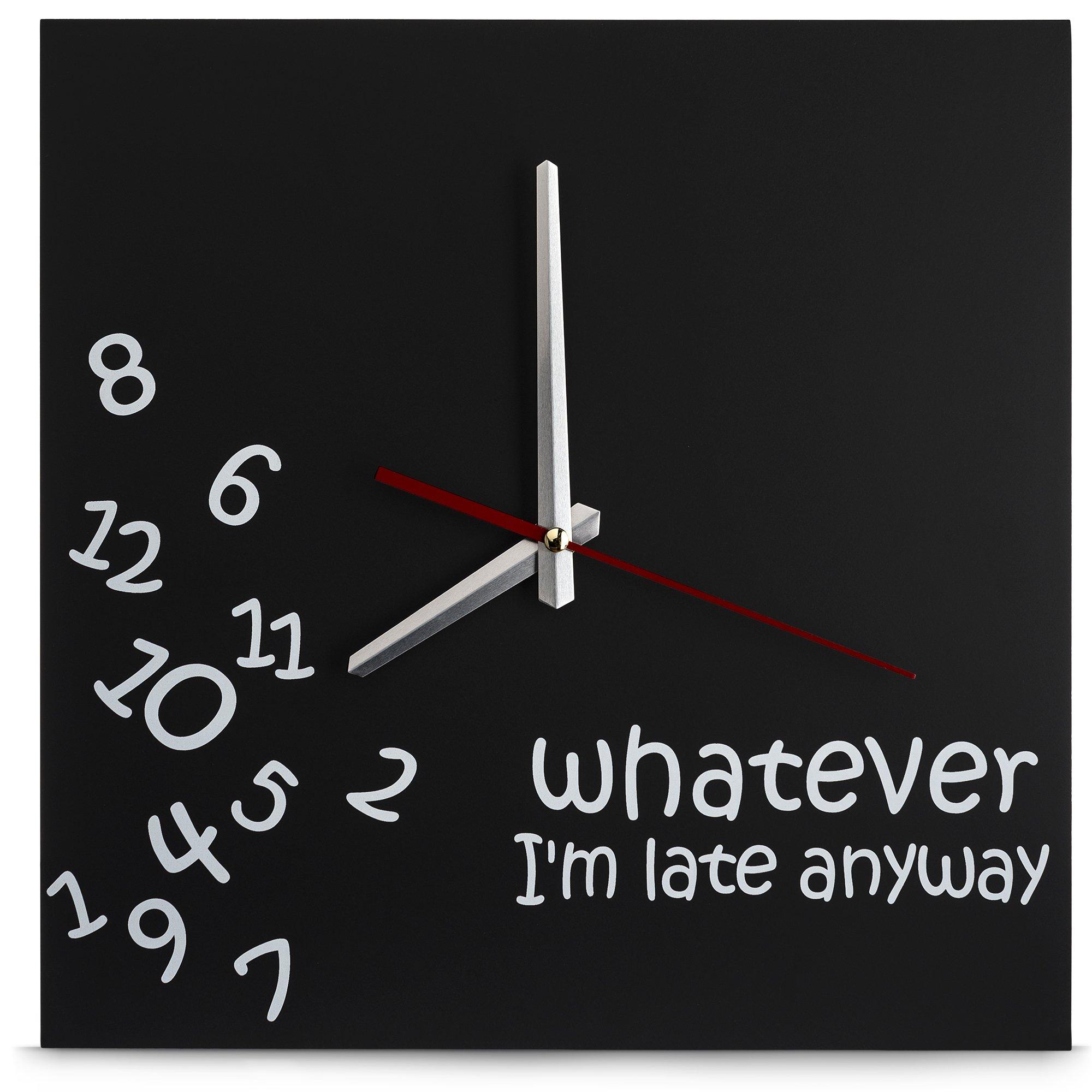 Whatever Wall Clock - by Decodyne by Decodyne